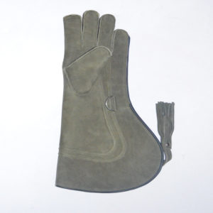 Nubuck-Leather-falconry-gloves-17-inch-three-layer